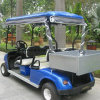 High Quality 4-Seater Electric Utility Car with Cargo Carrier