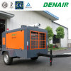 Anti-Exploded Diesel Engine Movable Portable Screw Air Compressor for Refinery Project