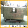 Customized Popular Brazil Rose White Granite Bathroom Vanity Counter Tops