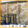 1.8cm Thick High Polished Marble Honey/Yellow Onyx for Flooring Tile or Wall