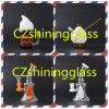 New Design Ice Cream Shape Glass Smoking Water Pipe Oil Rigs