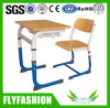 School Classroom Student Single Customized Desk with PP Chair Sf-58s