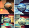 Natural Clear Crystal Ball Home Decoration Ornament