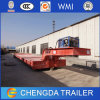 Equipment Transport Detachable Gosseneck 60ton Lowboy Semi Trailer