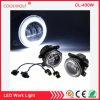 """4"""" Inch 30W CREE LED Fog Lights White Halo Ring Angel Eyes for Jeep Wrangler Jk Tj Lj Dodge Chrysler Cherokee"""