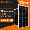 Moregosolar Mono Solar Panel 100W 115W with The Latest Technology Ml Series