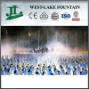 Green Landscape Artificial Fog Fountain on Stage