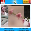 4-12mm Pink Acid Etched Glass with AS/NZS2208: 1996