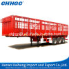 Made in China Factory Delivery Fence Semi Trailer for 30 to 60 Tons Duty