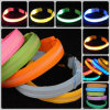 Neon Light Adjustable Glow Flash LED Pet Safety Collar Strap Belt Dog Cat