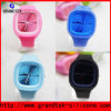 Classical Fashion Square Silicone Jelly Watch Removable Face