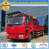 FAW 12 Tons Lorry Truck Mounted with 6 Tons XCMG Crane Price