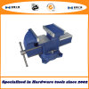 4′′ Multi-Purpose Bench Vise Swivel with Anvil Type