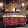 New Design Bathroom Furniture Floor Mounted Solid Wood Bathroom Vanity