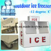 Outdoor Ice Freezer with Slant Design