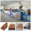 Double Layer Co-Extruded WPC PE/PP Decking Profile Extrusion Line