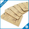 Factory OEM Made Paper Clothing Hang Tag