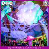 Customized Multicolor LED Giant Inflatable Cloud, Christmas LED Light Balls
