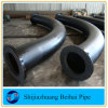 Carbon Steel A234 Wpb Seamless Pipe Bend with Flange on Both Ends