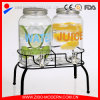 Wholesale Glass Beverage Dispenser with Stand