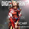 Digital Printed Satin Scarf