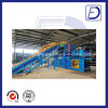 800kn Pressing Force Horizontal Hydraulic Straw Baler Recycling Machine