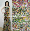 Chiffon Printed Fabric (geometrical design)