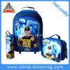 Back to School Stationery Rolling Backpack Trolley Bag