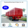 Semi Truck Trailer Container Trailer with 3 Axles Van From Manufacture