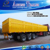 Tri Axle 50t Cargo Trailer/40ft Flatbed Container Trailer for Sale