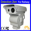 6km Forest Fire Alarm Security PTZ Thermal Imaging Camera