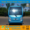 Zhongyi Brand 11 Seats 72V High Quality Battery Powered Electric Sightseeing Car with Ce and SGS Certification