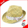 Sunflower Straw Fedora Promotional Straw Hat