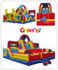 Football Frenzy Inflatable Obstacle Course Bb248