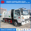 HOWO 5m3 Garbage Truck 5000L Compression Garbage Truck