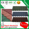 Heat Resistant Building Material Flat Stone Coated Roofing Tile