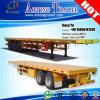 2/3 Axis Flat Bed 40ft Container Semi Trailer for Sale