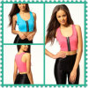 2013 New Design Zip Front Sports Bra/Lady Top (Hsm243)