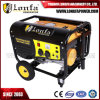 5.5kVA Strong Power Fish Panel Gasoline Generator with Wheels