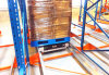 Freezed Warehouse Pallet Runner for High Density Storage