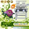 Holiauma 2 Head 15 Needle Cap/Garment Embroidery Machine Free Embroidery Design Good Embroidery Machine Price with Dahao Control System Tajima & Brother Type
