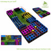 Large Indoor Commercial Trampoline Park, Trampoline Outside with Safety Net