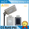 Factory Direct 5W All in One LED Solar Street Light