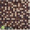 Indoor Bathroom Glass Mosaic Tile (TG-SNK-005)