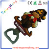 Custom Promotional Beer Cartoon Rubber Bottle Opener for Gift