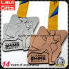 Customized Zinc Alloy Running Medal in Antique Finishing
