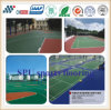 Outdoor Sport Used UV Resistant Spu Sports Flooring for Badminton Court