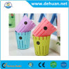 Indoor Colorful Plastic Trash Can Waste Bin for Household
