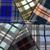 Classical Wool Fabric Check Overcoat