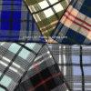 Classical Wool Fabric Check Overcoat